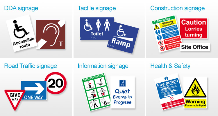 Standard Health & Safety Signage and Products